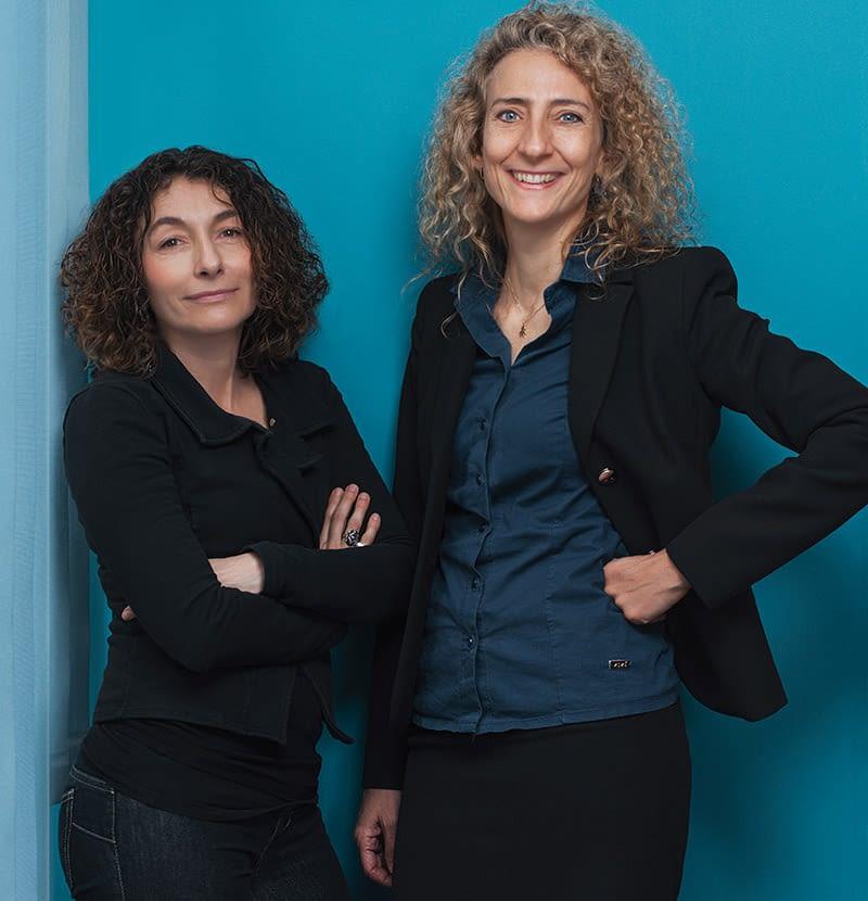 Laura Averone e Raquel Guarnieri EEC Italia
